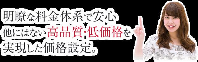 国分寺の整体【 口コミNo.1 】のぶ整体院の施術は明瞭な料金体系で安心 他にはない高品質・低価格を実現した価格設定です。