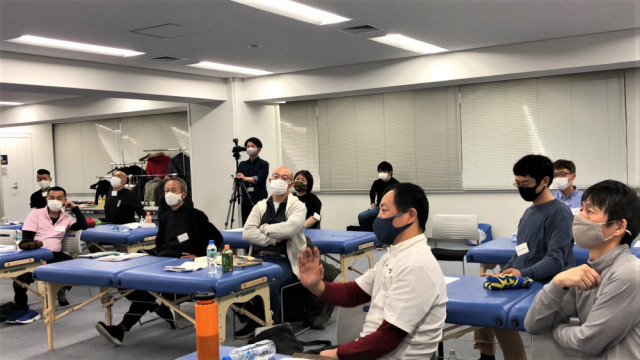 九伝流療術Ⓡ 第2期生 セミナー風景