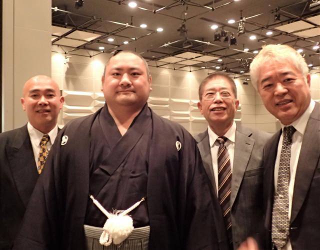 佐渡ケ嶽部屋千秋楽祝賀会