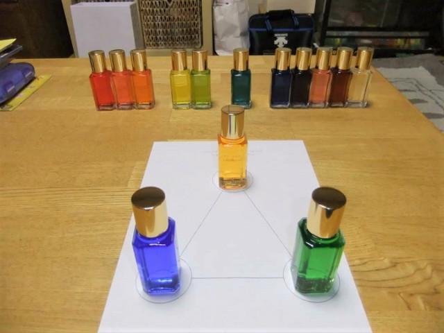 みんな選ぶ色はマチマチ!