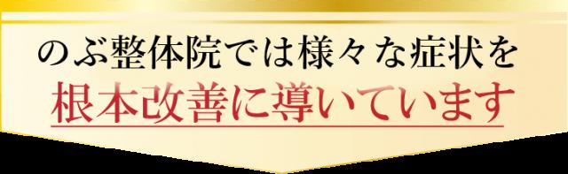 国分寺の整体【 口コミNo.1 】のぶ整体院では様々な症状を根本改善に導いています