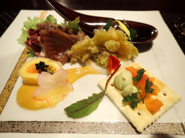 2日目・大人の時間を愉しむ宿 箱根風雅さんのディナー