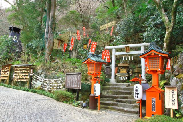 3日目・天成園の玉簾神社
