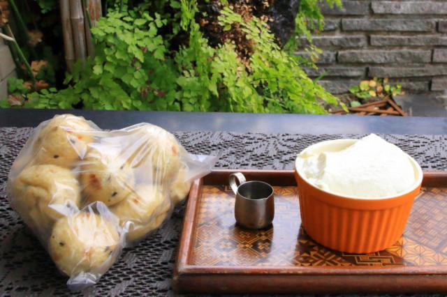 3日目・萩野もめん豆腐さんにて豆腐とがんも
