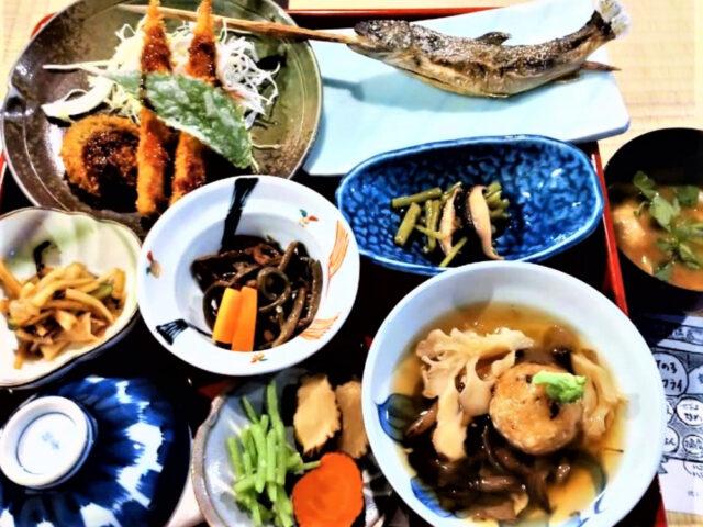 2泊目 鶴の湯♨夕ご飯