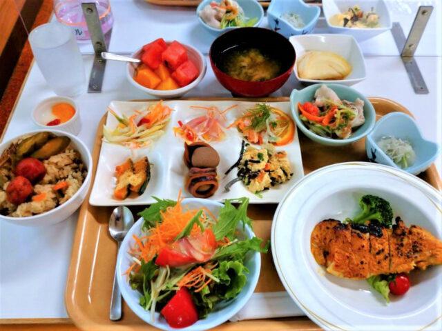 玉川温泉の美味しい夕御飯